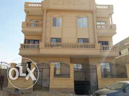 Apartment​ in a luxuries area at El Shorouk city for sale.