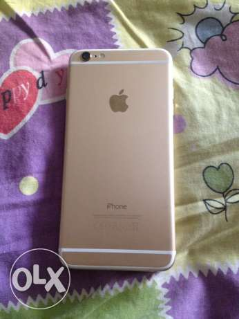 iPhone 6 Plus 64gb gold with box