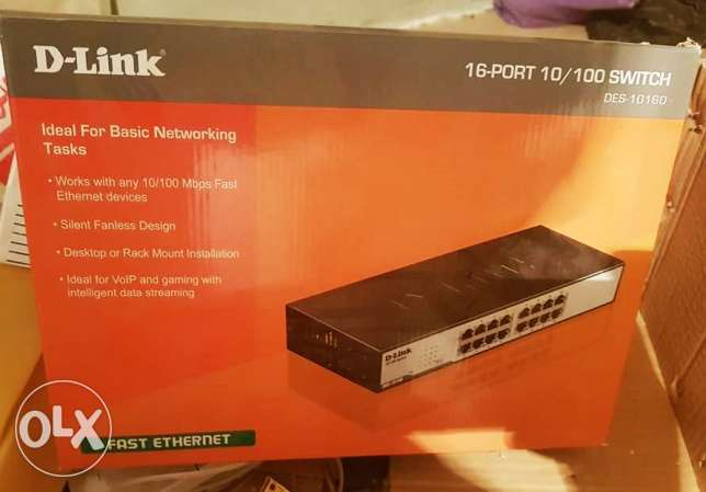 Switch D-Link 16 Port