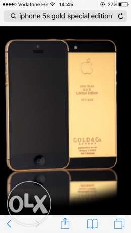 iphone 5 gold special edition from dubai for real sale