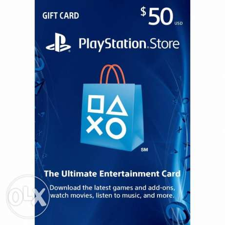 PSN GIFT CARD US $50 for sale