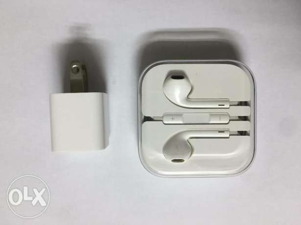 iPhone 6 64gb with Box, Original charger and Earphones مصر الجديدة -  4