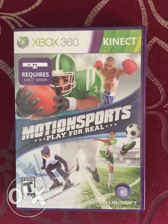 Motion Sports Kinect Game xbox 360