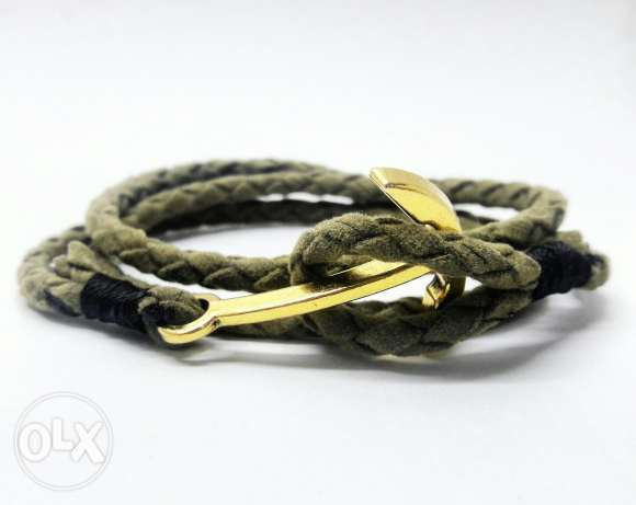 Rope & Anchor Bracelet