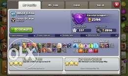 clash of clans lvl 105 th 9 maxt