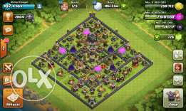 Town 9 for sale (clash of clans )