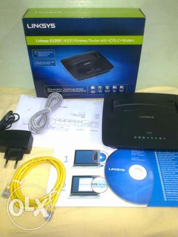 LINKSYS X1000 N300 Wireless Router