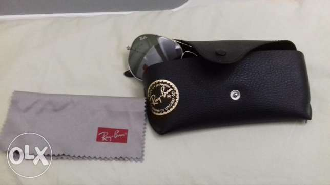 Ray ban aviator glasses