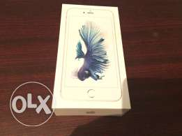 i phone 6s plus 64 g silver brand new
