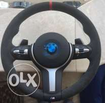 bmw M performance steering wheel alcantara for 1 series-3 series & x5