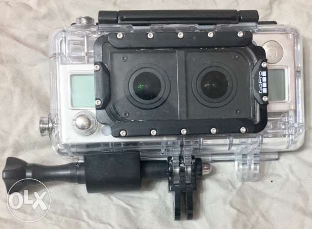 Dual Hero System 3D Housing (GoPro not included)