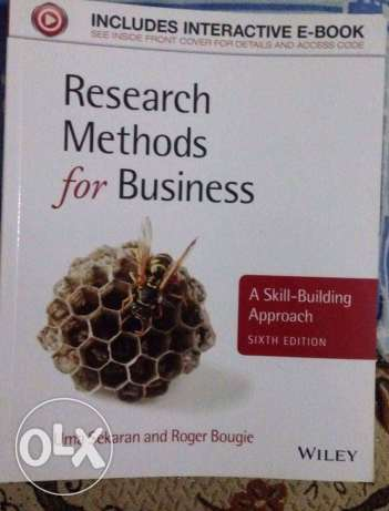 research methods for business book