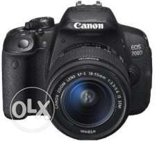 Camera canon 700D used