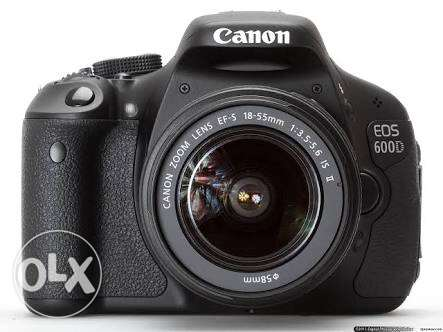 canon 600D like new with all accessories