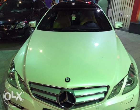 2011 E250 coupe Amg white panorama الإسكندرية -  2