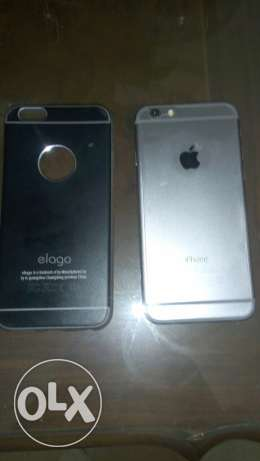 mobile iPhone 6 64giga spacegray المعادي -  2