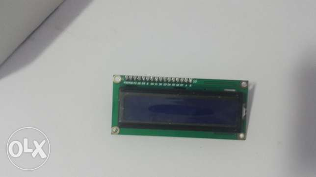 Charcter LCD with Serial Interface IIC For Arduino