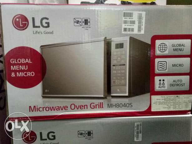 LG 40 litre microwave oven grill مدينة نصر -  1