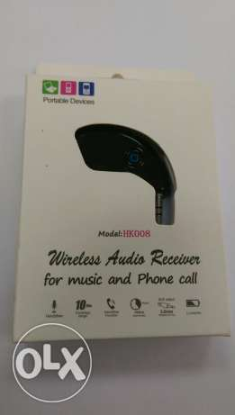 AUX Bluetooth wireless For Car Cassette شبرا -  5
