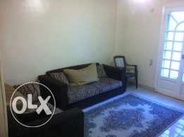 Furnished apartment for rent- first floor- New Maadi90م