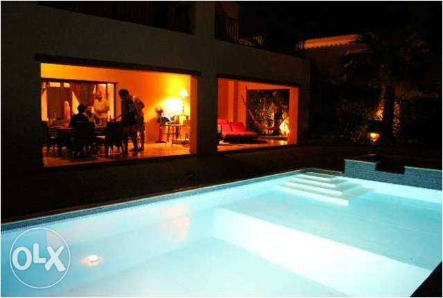 Furnished Villa With privet Pool For Rent in Marassi North Coast