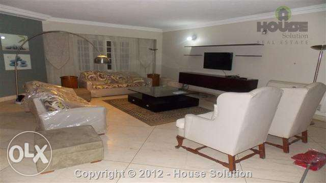 Ground Floor Apartment Fully Furnished For Rent In Maadi Degla