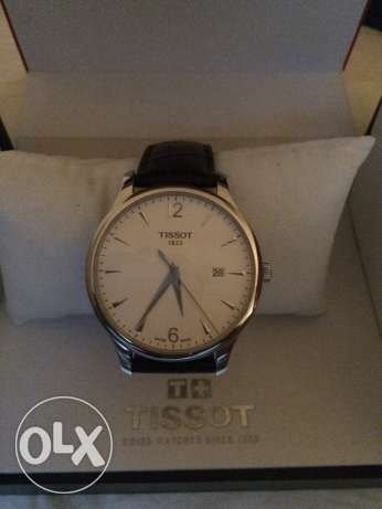 New unused brown leather tissot watch كفر عبدو -  4