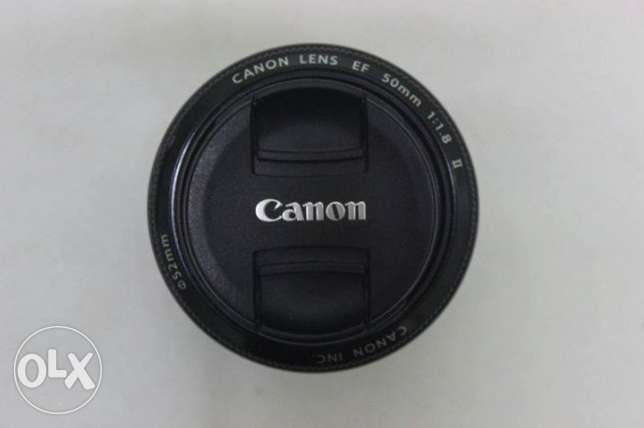 Lens canon 50 mm