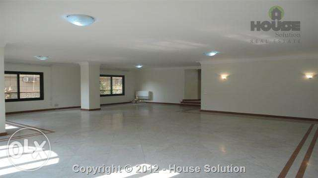 Ground floor apartment for rent in Degla Maadi WIth A Nice View