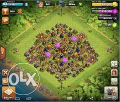 Clash Of Clans Account TH 10 Max Base