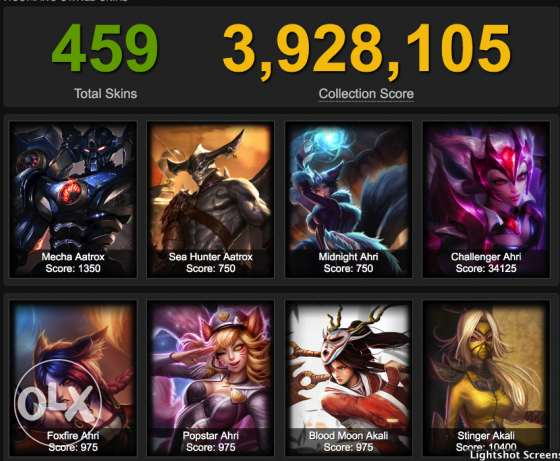 League of Legends account (EUW)