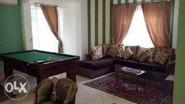 furniture villa in Biverlly Hills الشيخ زايد -  6