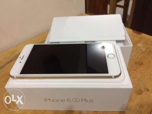 I phone 6s plus gold المنيل -  2