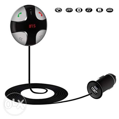 Bluetooth hands free kit for safety drive and fm transmitter
