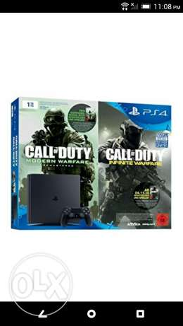 New Ps4 slim with call of duty