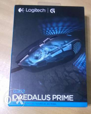 Logitech G302 Daedalus Prime MOBA Gaming Mouse **جديد متبرشم**