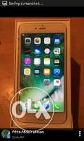 I phone 6 s plus 128 giga silver