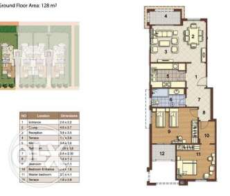 Apartment in stone residence least price per meter