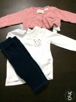 3-pieces outfit baby girl