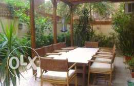 Fully furnished ground floor in Maadi Sarayat for rent!