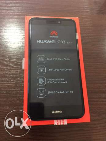 Huawei Gr3 2017 ( box - charger - screen ) ... used for 1 month only !