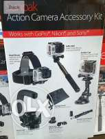 SUNPAK Action Camera Accessory kit( works with GoPro)