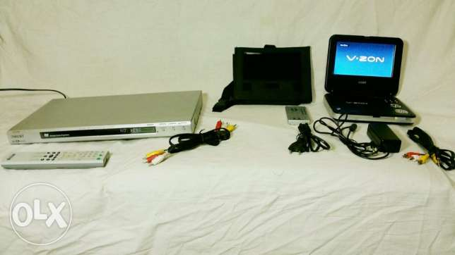 Laptop DVD (دي في دي محمول) + SONY DVD Player Made in Malaysia
