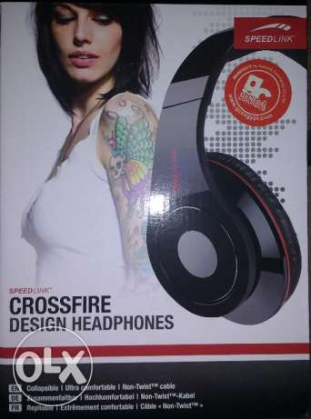 Headphone-SpeedLink Crossfire