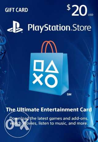 $20 PlayStation Store Gift Card - PSN Card - PS3/ PS4/ PS Vita [Code]