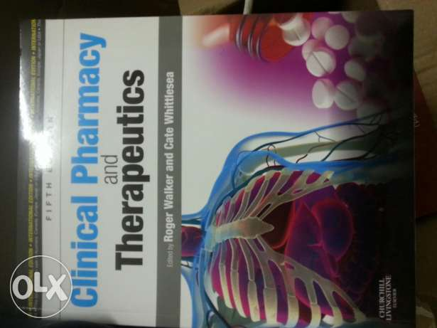 Book for clinical pharmacy