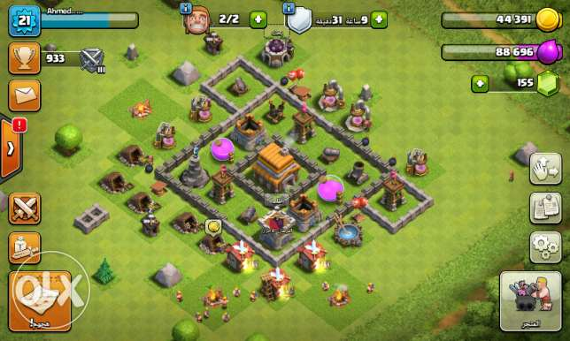 Clash of Clans ليفل 5
