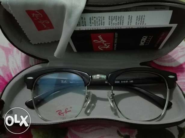 Original Ray ban club master eyeglass نظارة