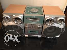 dvd & cassette & cd player with remote