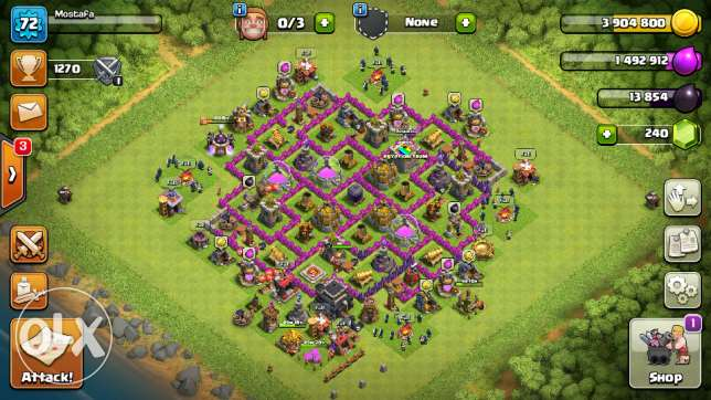 Clash of clans clash royels and boom of the beach